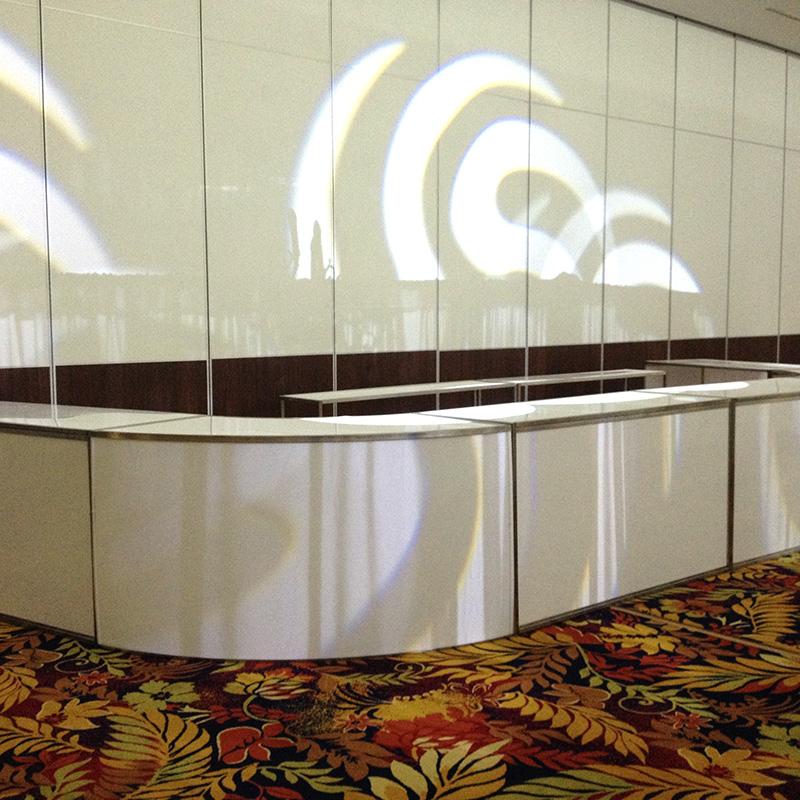 Contemporary bar circular bar