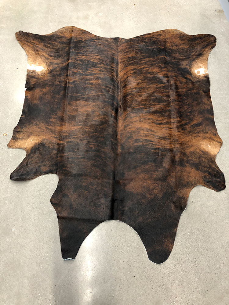 Cowhide-exotic-brown