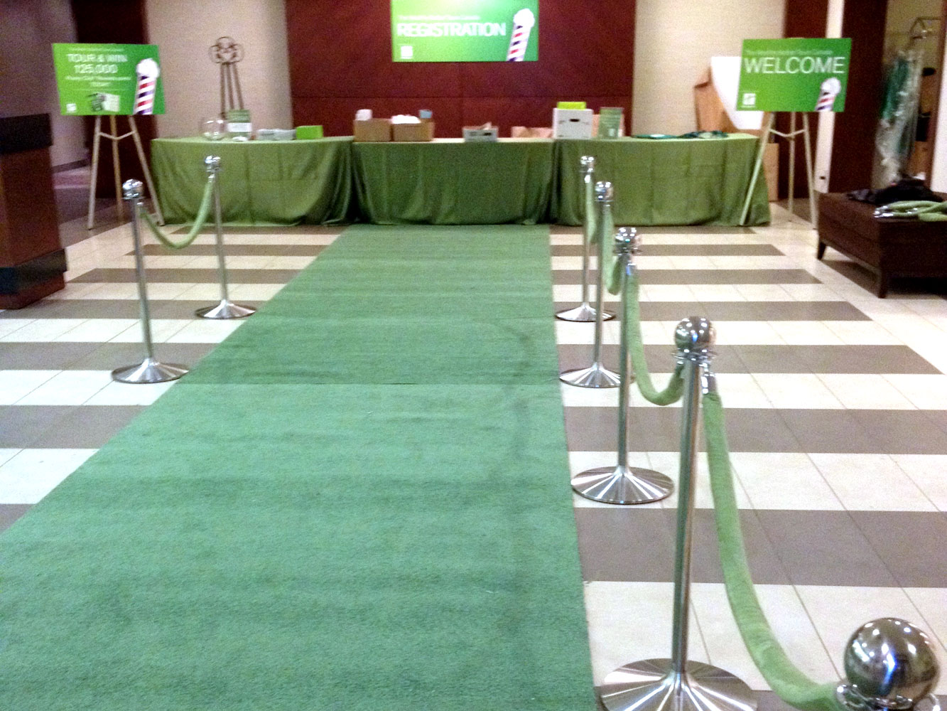 Sitra Hollywood Carpet Runner green
