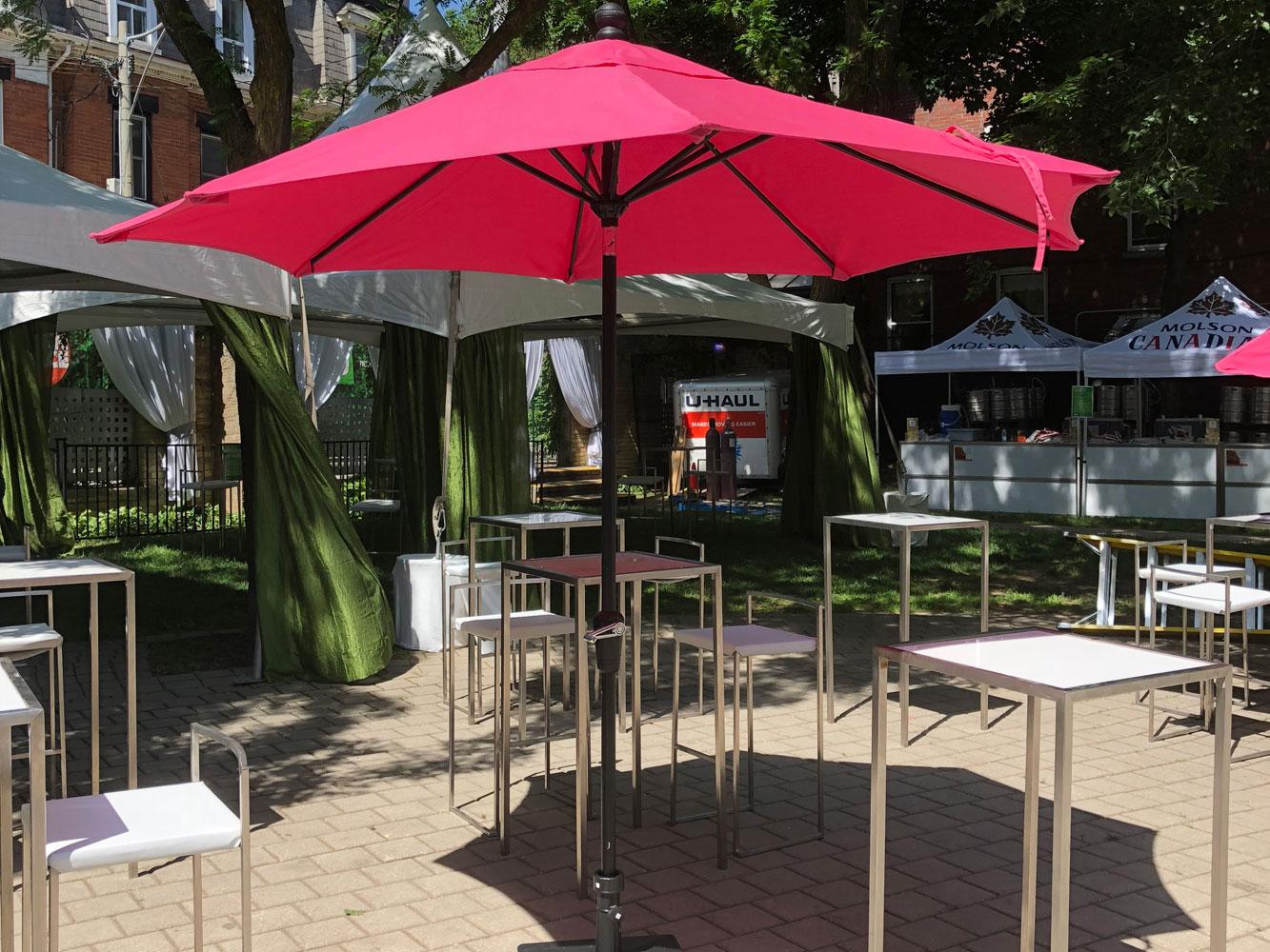 Sitra Maria Patio umbrella pink