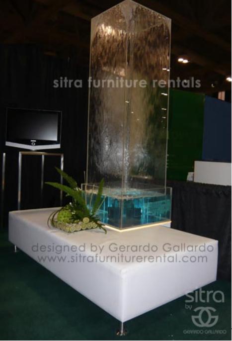 Water fountain C ottoman