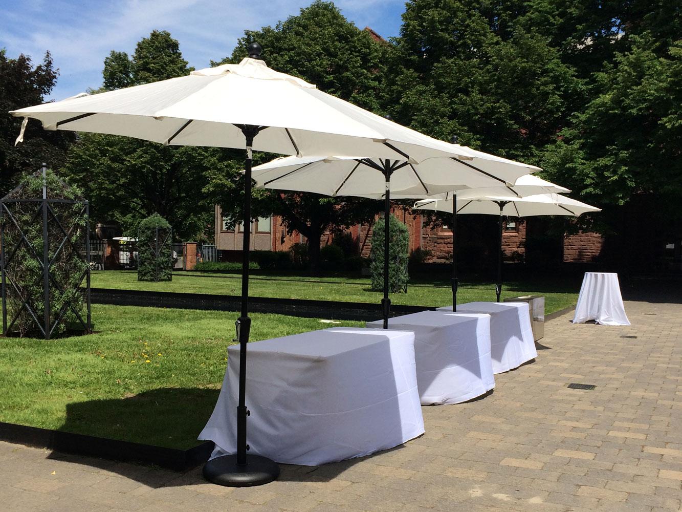 Sitra Maria Patio umbrella white